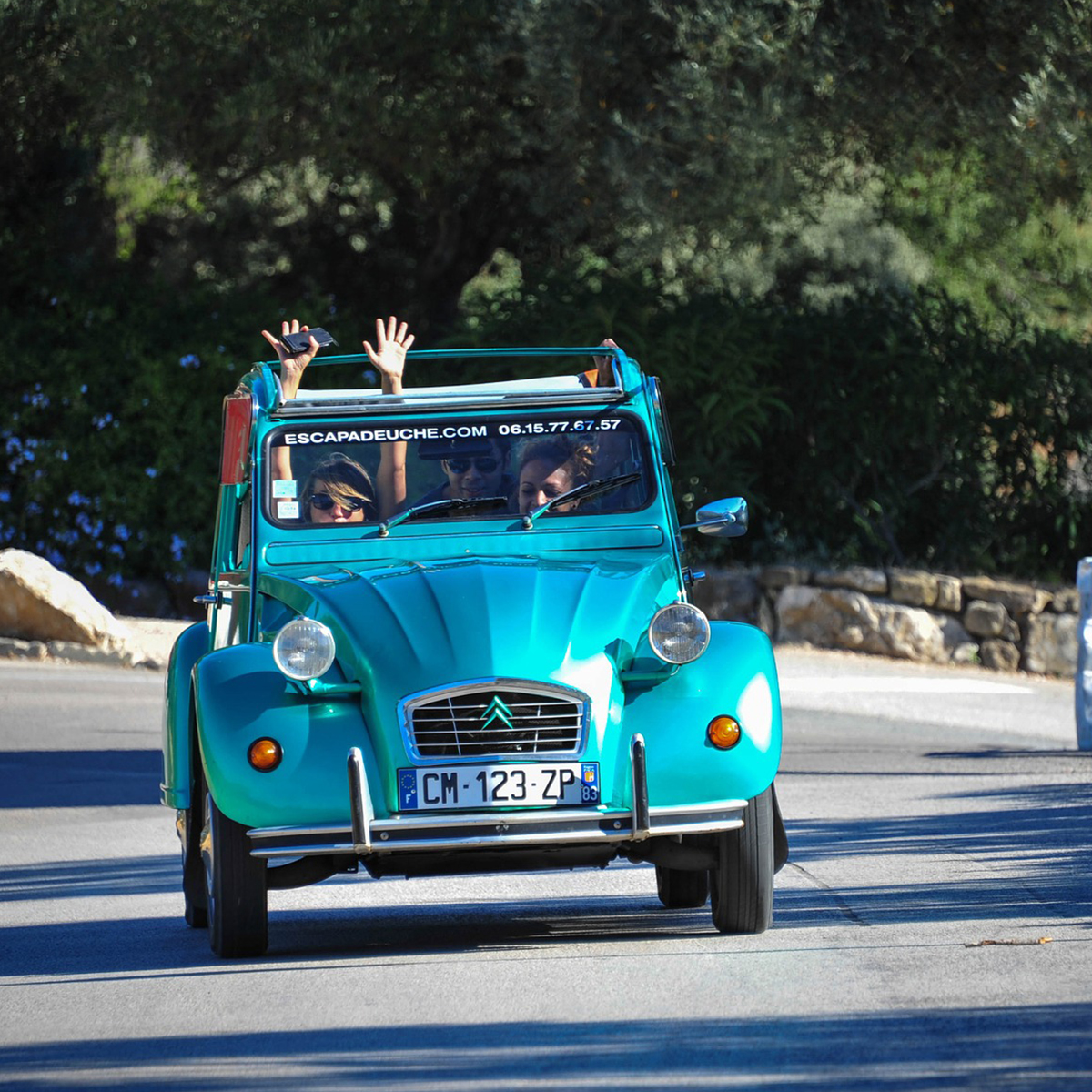 Rallye en 2 cv<br> en pays impressionniste