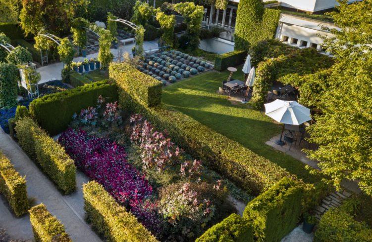 musée des impressionismes vue plongeante jardins giverny